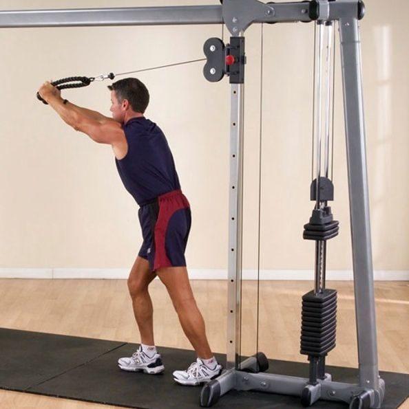 Тренажер кроссовер: топ-20 лучших упражнений на все группы мышц