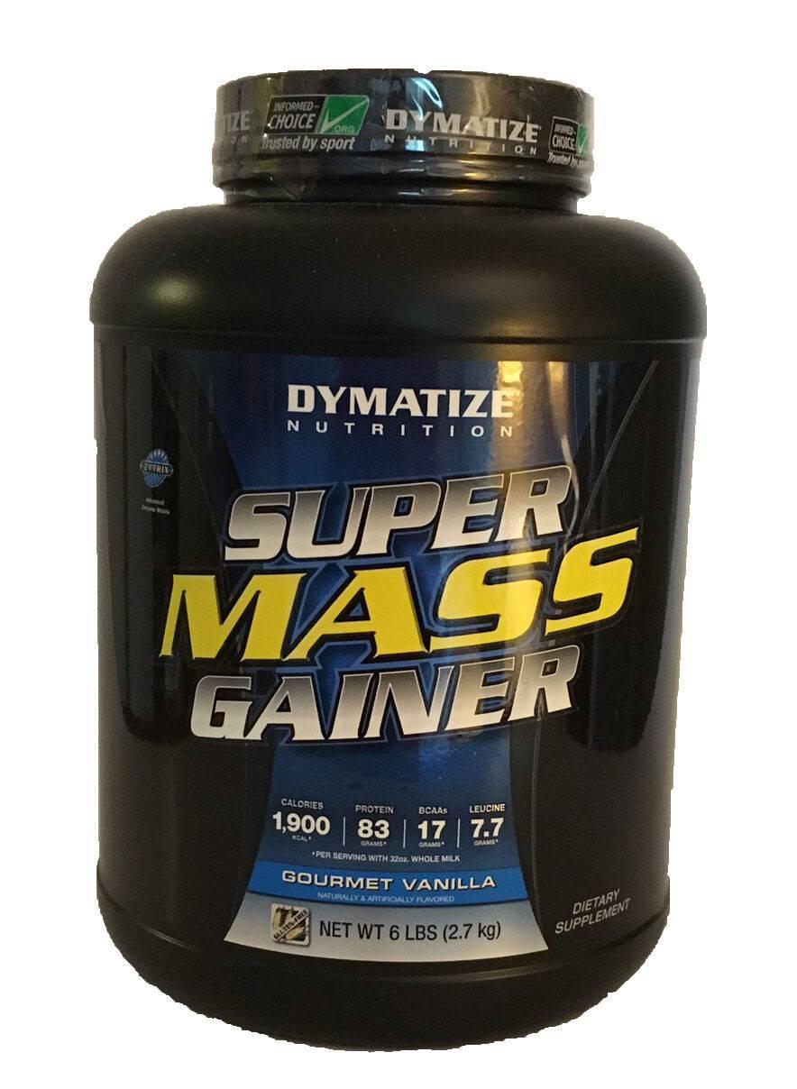 Super mass gainer от dymatize nutrition- описание гейнера, состав