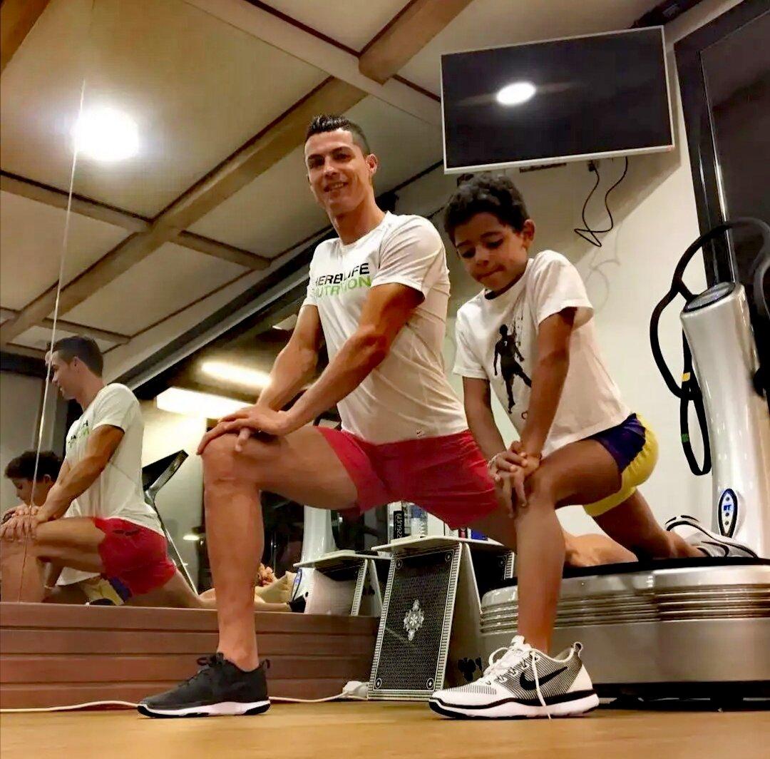 Диета и программа тренировок криштиану роналду