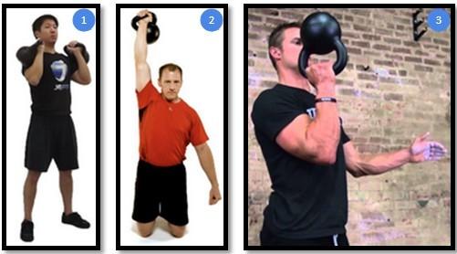 Упражнения с гирей. для начинающих. поднятие гири на грудь. жим гири. техника выполнения. видео |