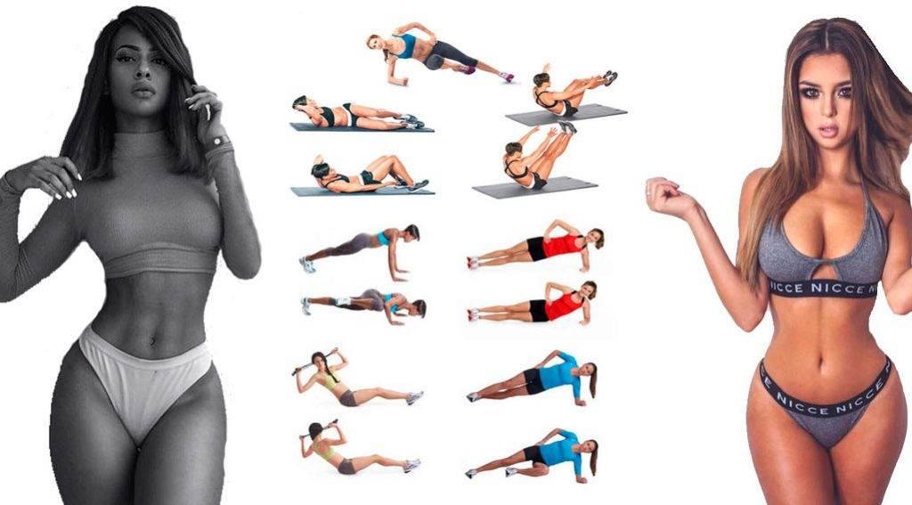 Как сделать талию тонкой в домашних условиях: упражнения, питание и советы