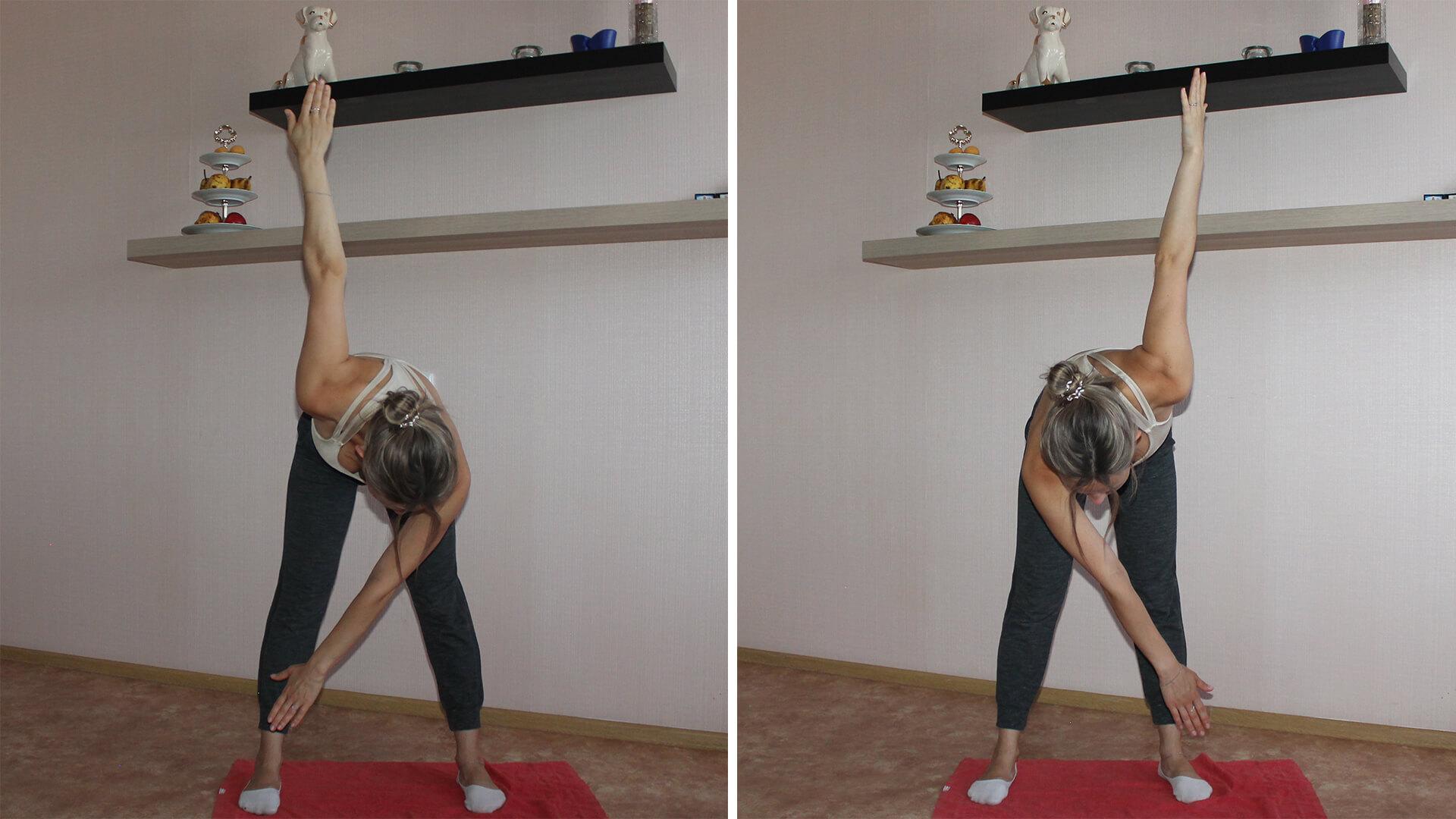Упражнения для зарядки на физкультуре