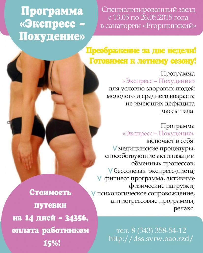 Лучшие программы тренировок для похудения