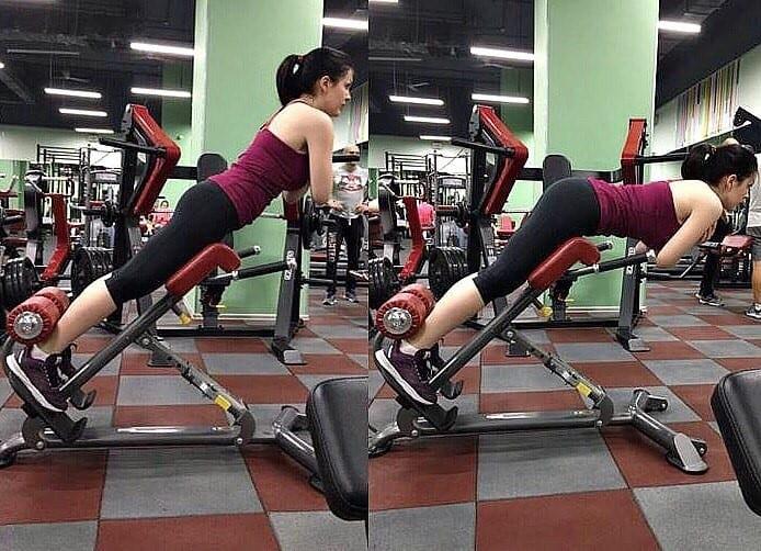 Учебное пособие по правильной технике выполнения упражнения гиперэкстензия на спину, ягодицы и бедра