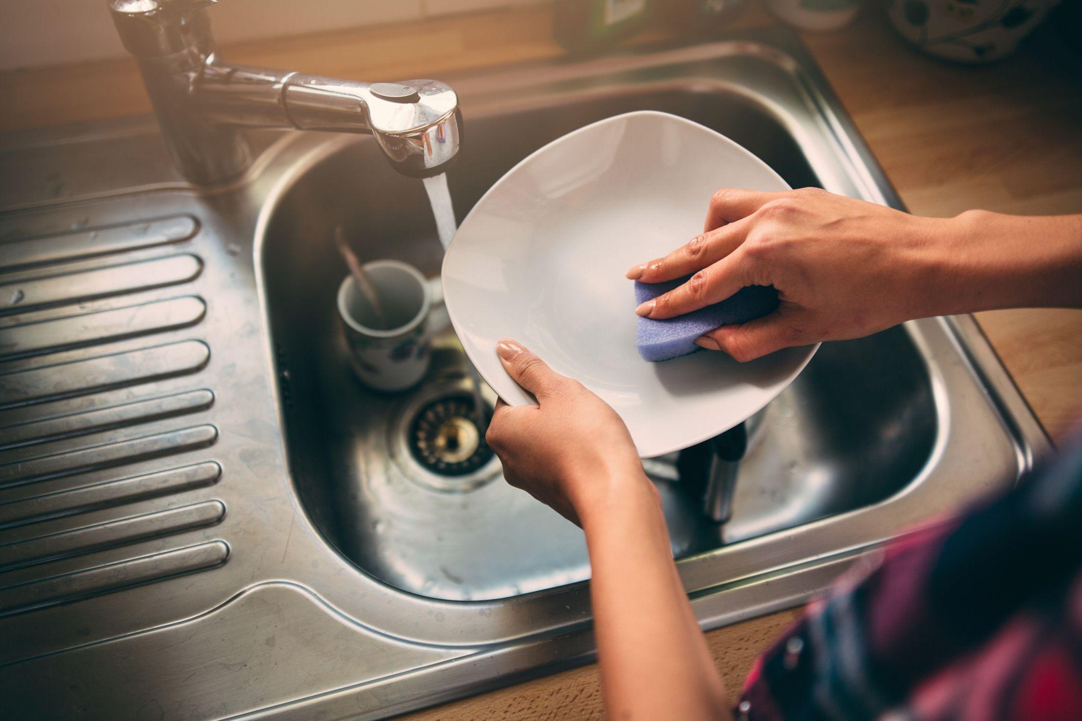 Мытьё посуды и ваше здоровье