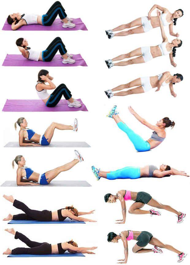 Ускоряем результат от упражнений для похудения живота и боков для мужчин