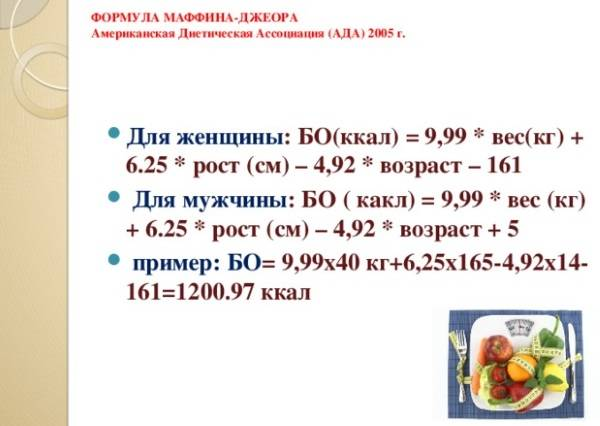 Суточная норма калорий для женщины с калькуляторами