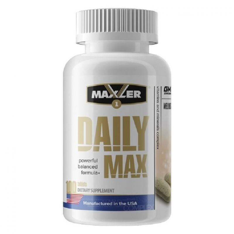 Maxler vitamen – обзор витаминно-минерального комплекса