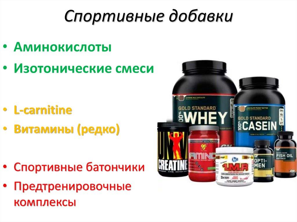 Спортивное питание для начинающих