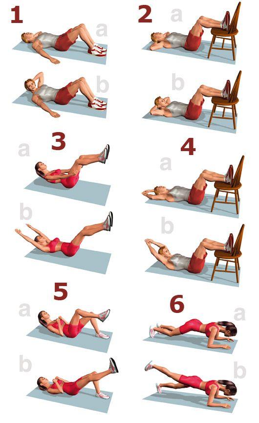 Эффективные упражнения для пресса в домашних условиях для женщин  стоит попробовать