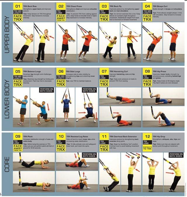 Петли trx — самые эффективные упражнения, лучшие программы тренировок и советы по выбору спортивных снарядов (110 фото)