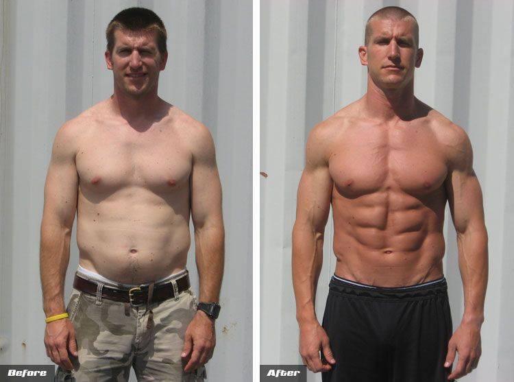 Сушка тела: меню для мужчин (80-90 кг)