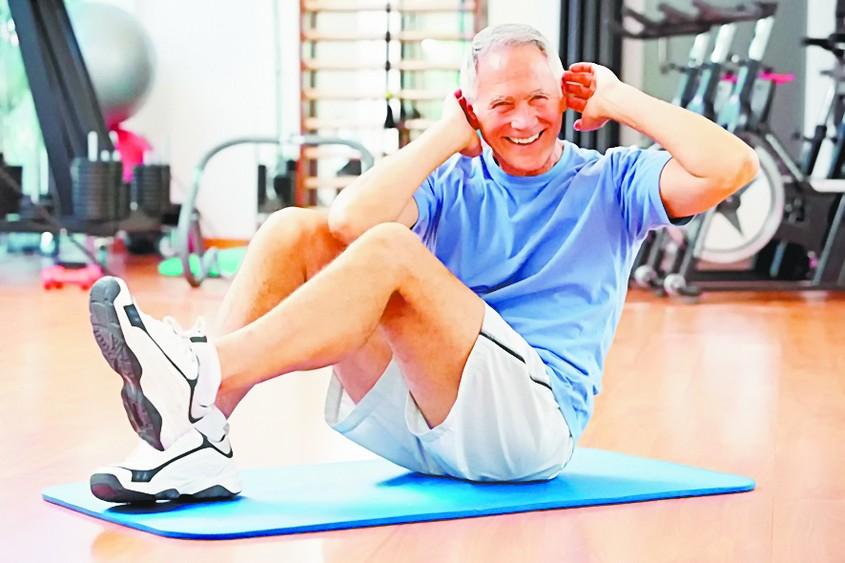 Упражнение, помогающее сердцу