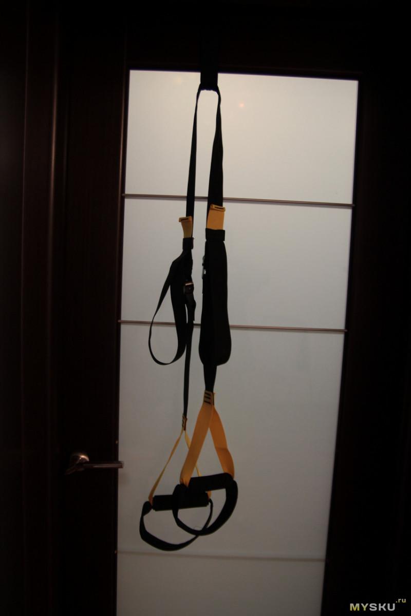 Как крепить trx петли дома к турнику двери стене потолку