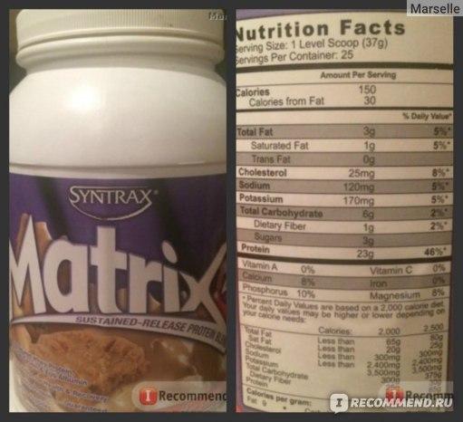 Matrix 5.0 от syntrax: отзывы, состав и как принимать протеин