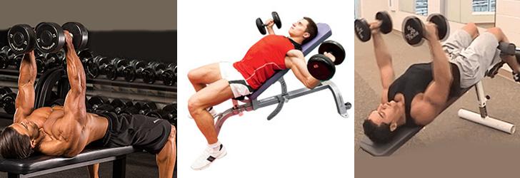 Без скамьи: 9 упражнений с гантелями на грудь
