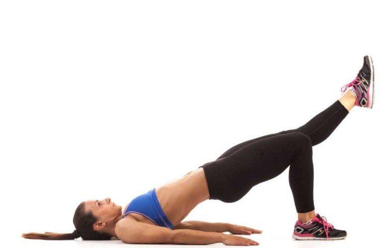 Ягодичный мостик техника выполнения: какие мышцы работают, как правильно делать (10 вариантов исполнения позы)