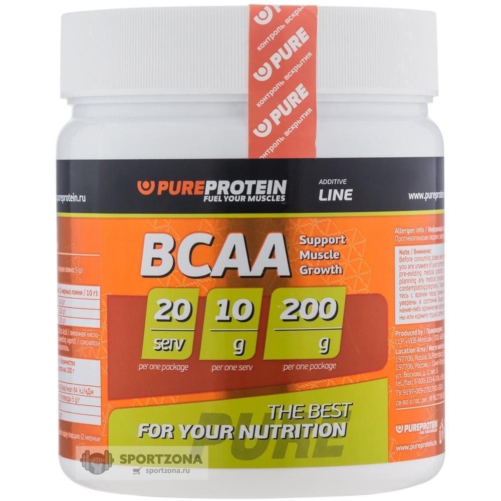 Bcaa pureprotein - мощный комплекс для продвинутых бодибилдеров