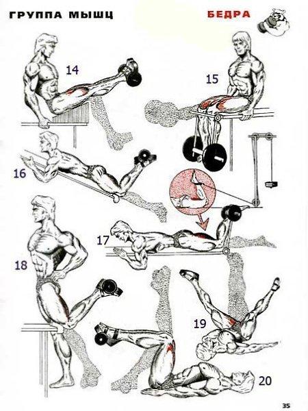 Как накачать ноги в домашних условиях мужчине: упражнения для мышц ног