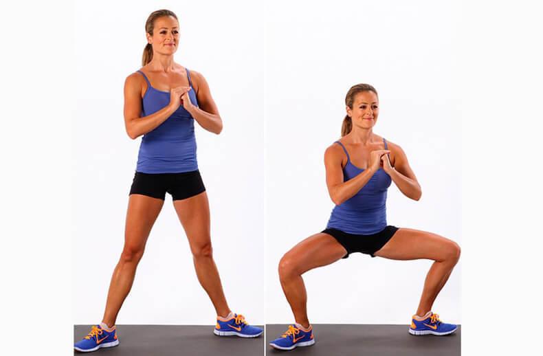 Эффективные упражнения для внутренней части бедер