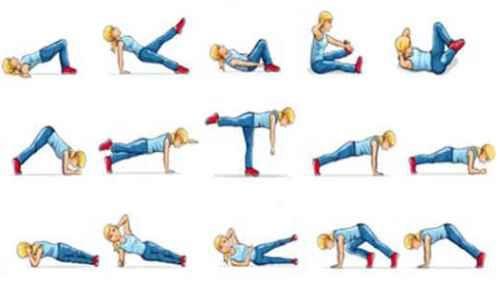 Упражнения для похудения живота и боков: силовые нагрузки, комплекс гимнастических движений
