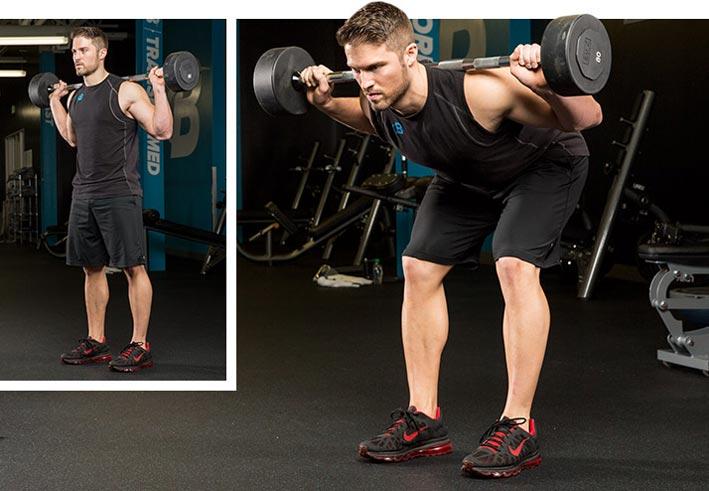 Упражнение «доброе утро»: техника выполнения наклонов со штангой | rulebody.ru — правила тела