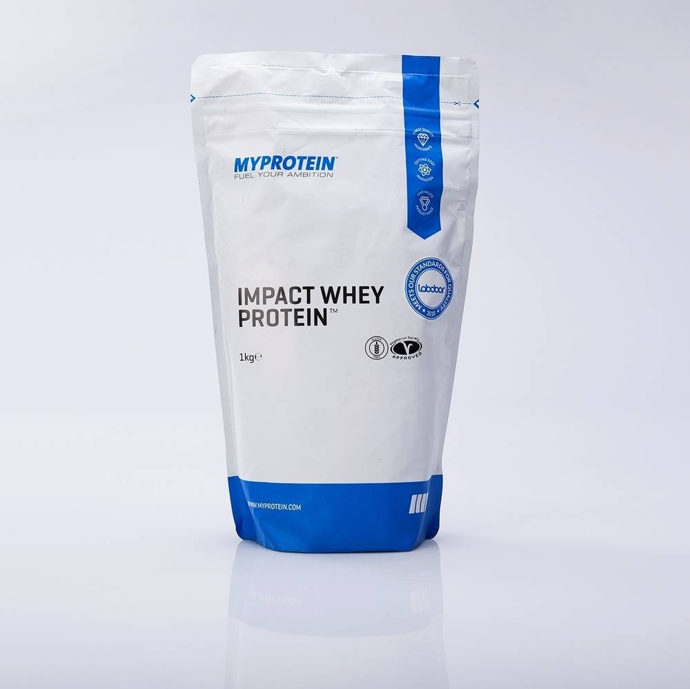 Калорийность протеин myprotein impact whey protein. химический состав и пищевая ценность