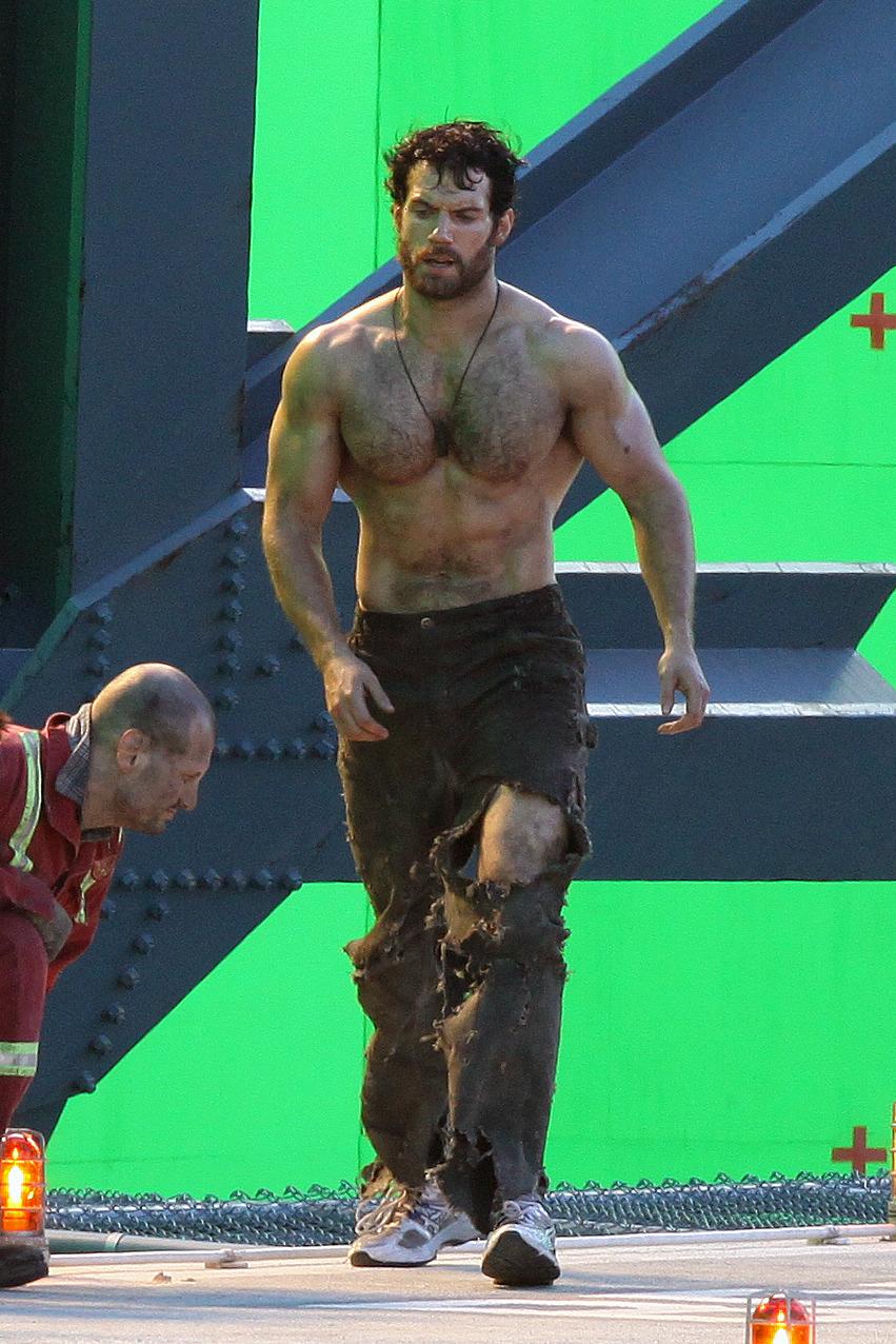 Человек из стали тренировки генри кавилла для роли супермена