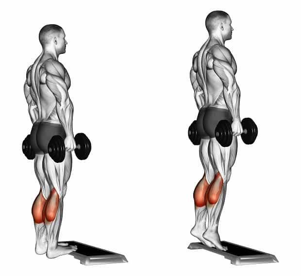 Жим гири стоя — техника и варианты выполнения упражнения