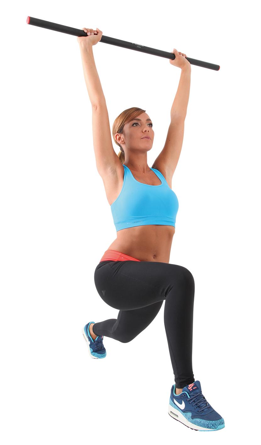 Упражнения с бодибаром для ног, ягодиц, спины, рук, пресса: женщинам и мужчинам