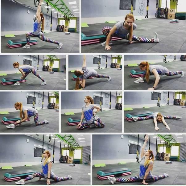 Поперечный шпагат: растяжка, упражнения, которые помогут сесть на него, фото