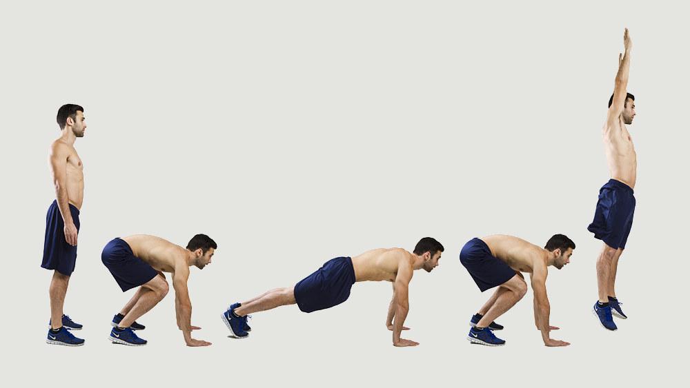 Берпи: описание упражнения, техника выполнения для мужчин и женщин