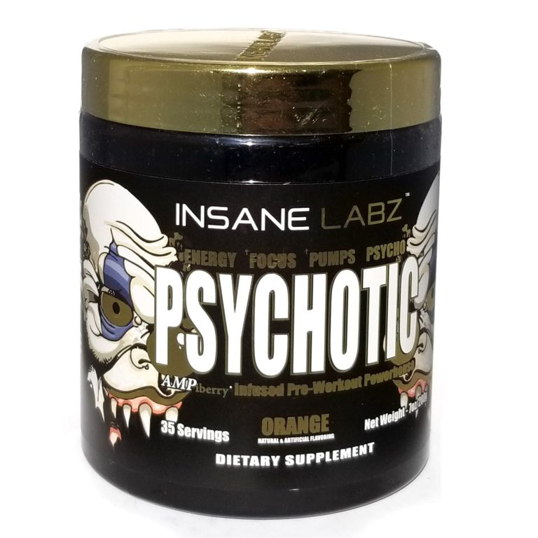 Psychotic (психотик)- предтренировочный комплекс усиленной мощности