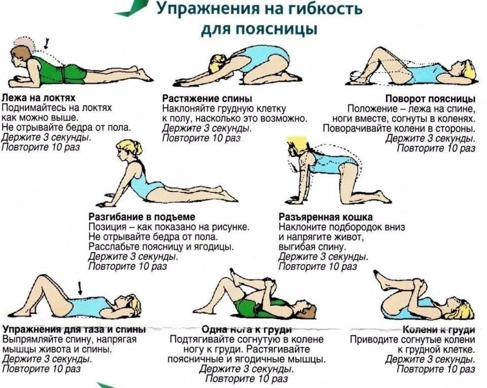 Эффективные упражнения для укрепления мышц спины и поясницы от боли в позвоночнике в домашних условиях