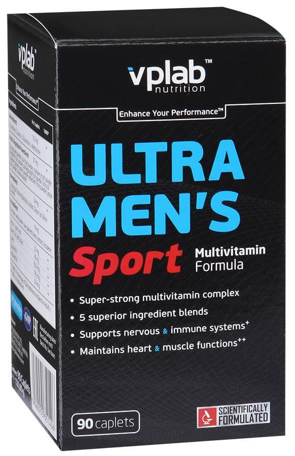 Ultra men's sport multivitamin formula 180 табл (vp laboratory) купить в москве по низкой цене – магазин спортивного питания pitprofi