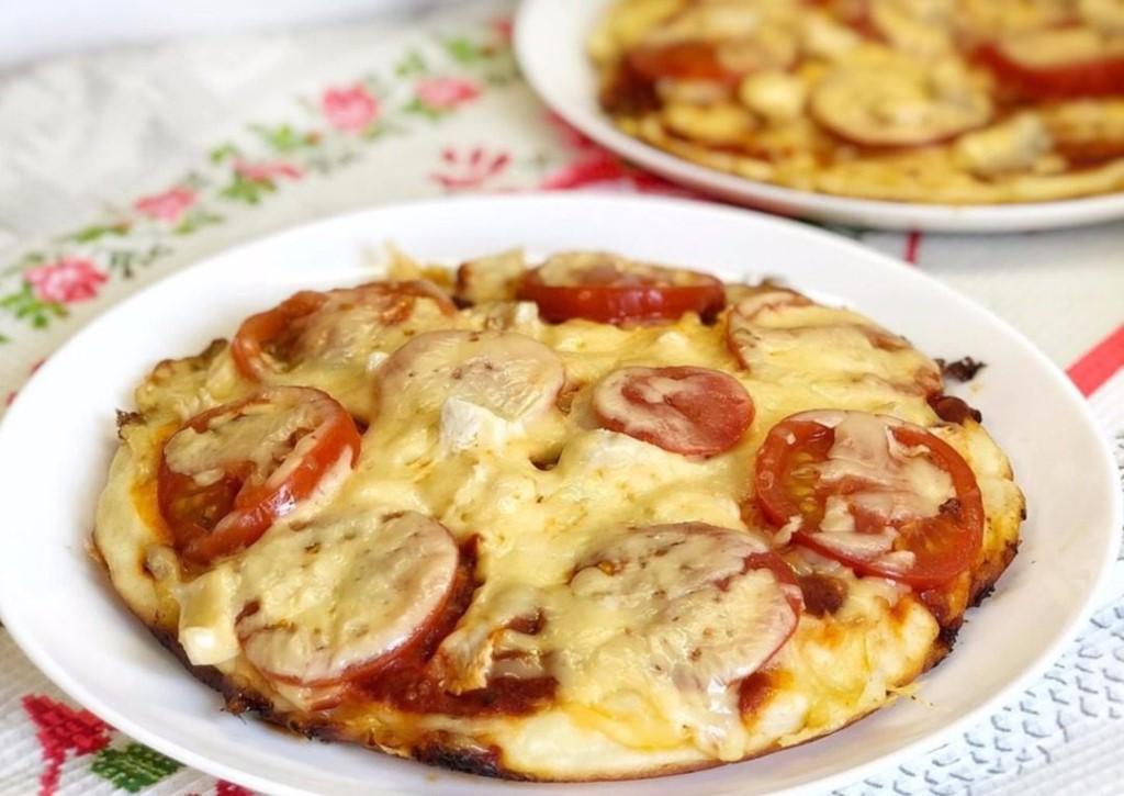 Пп пицца из куриной грудки. приготовление диетической «пиццы» из куриного фарша   здоровое питание