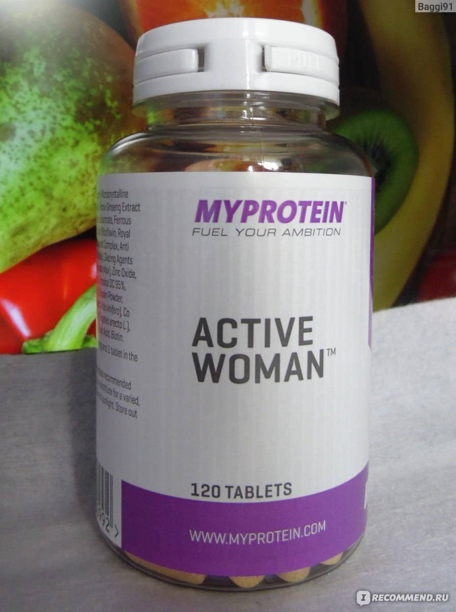 Active woman 120 табл (myprotein)