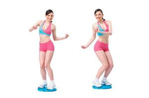 Комплекс упражнений на диске здоровья для всего тела