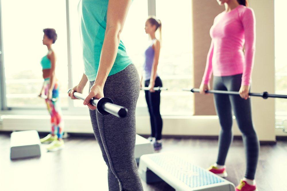 Комплекс упражнений с бодибаром - питание, красота и здоровье