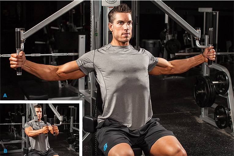 Тренировка грудных мышц в тренажерном зале - лучшие упражнения
