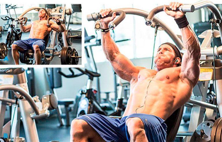 Рычажная тяга в тренажере: техника выполнения, какие мышцы работают