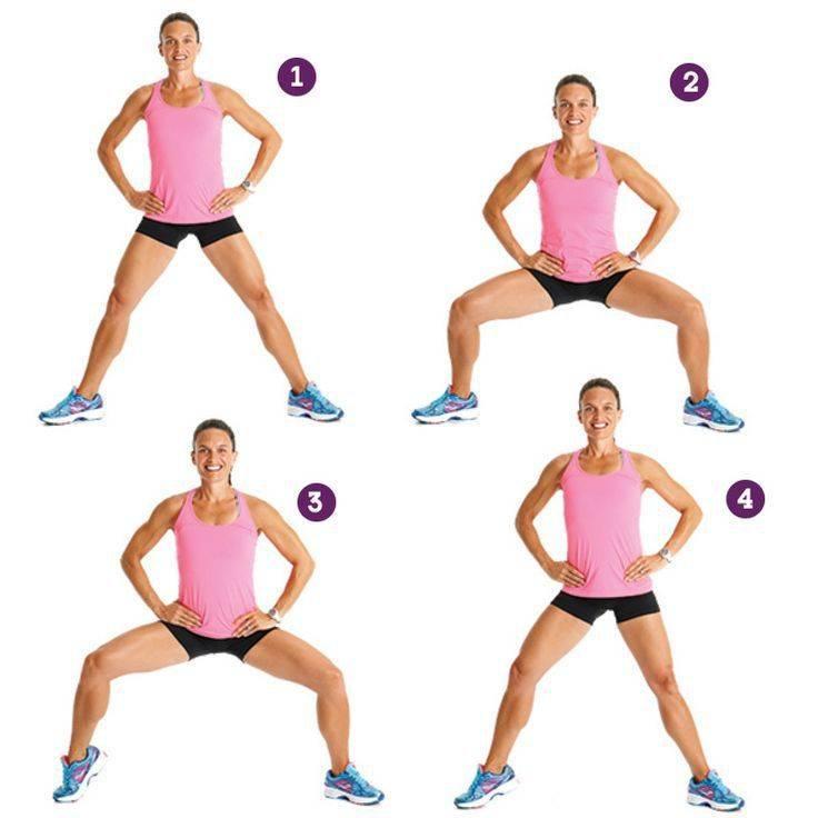Как похудеть в бедрах: упражнения на проработку области ног, ляшек и ягодиц, советы тренера