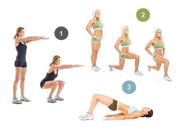 Как похудеть в бедрах: упражнения, питание и советы