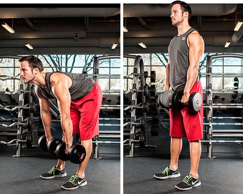 Становая тяга и программа тренировок для взрывного роста всей мускулатуры