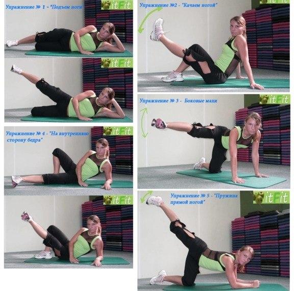 Упражнения на внутреннюю часть бедра, лучшие упражнения для внутренней части бедра