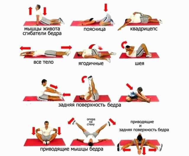 Комплекс эффективных упражнений на растяжку