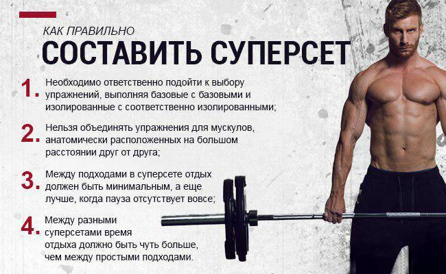 Суперсеты на плечи для мужчин - пример тренировки