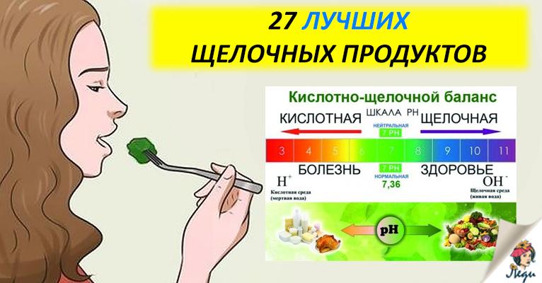 Ощелачивание организма содой