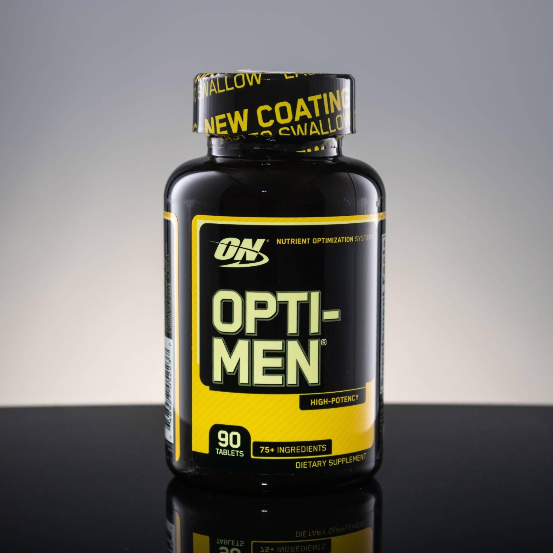 Как правильно принимать витамины opti men?