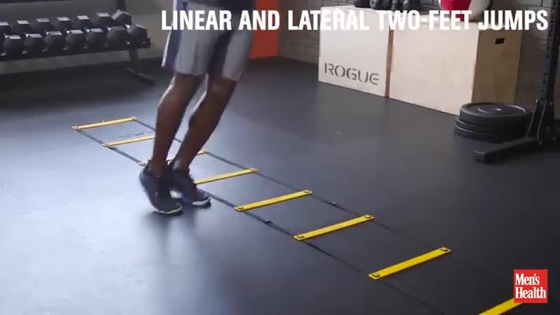 Координационная лестница — для чего нужна + комплекс упражнений
